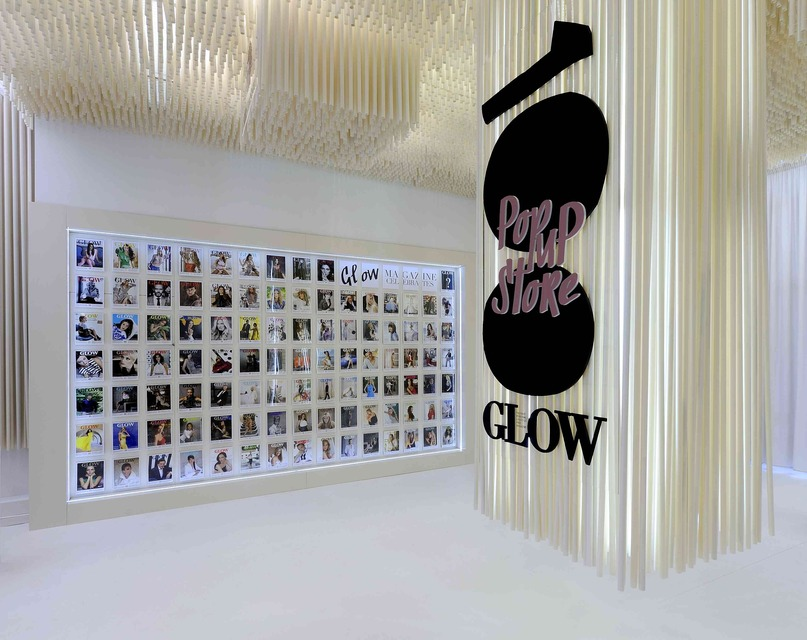 Glow Magazine Pop Up Store