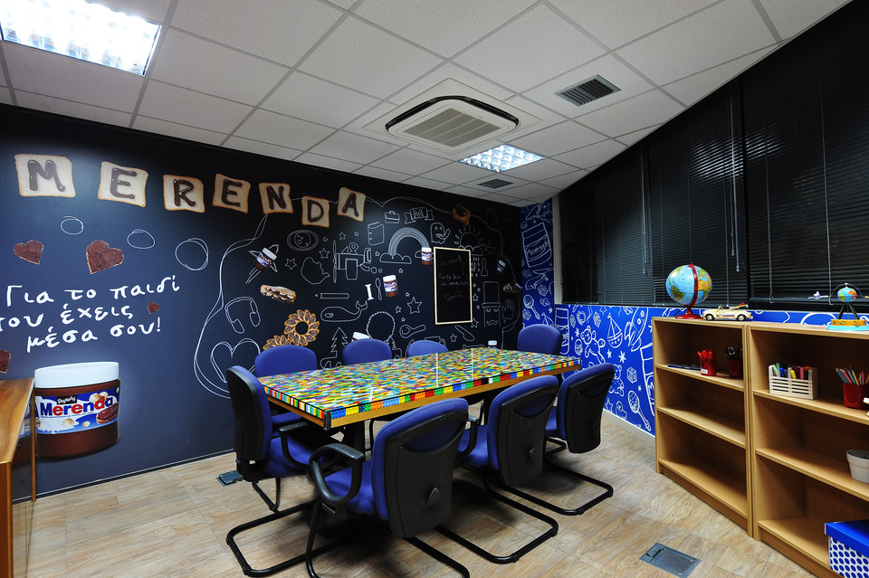 Mondelez Meeting Rooms Interior Decoration