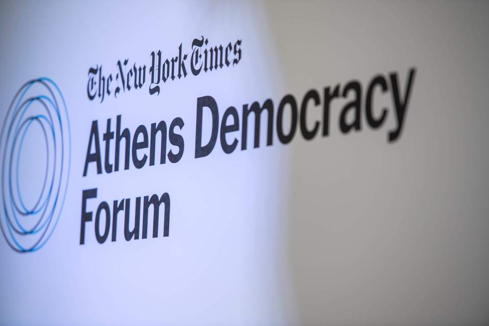 The New York Times Athens Democracy Forum