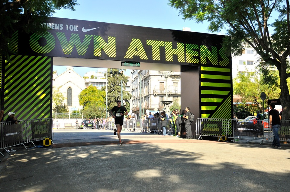 NIKE We Run Athens 10K 2012