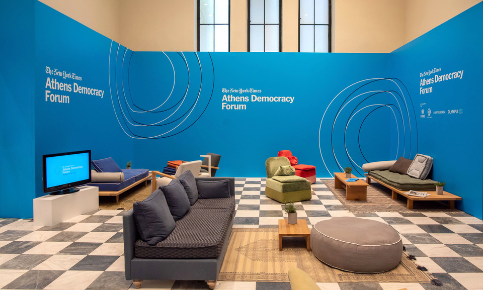 The New York Times Athens Democracy Forum 2018