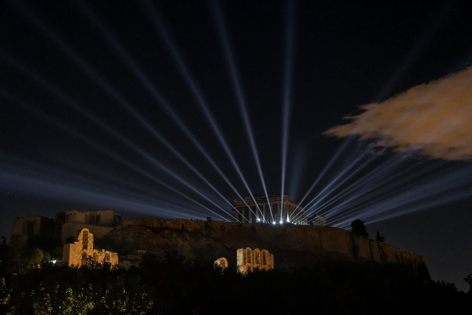 Presentation of the Νew Lighting of the Acropolis of Athens