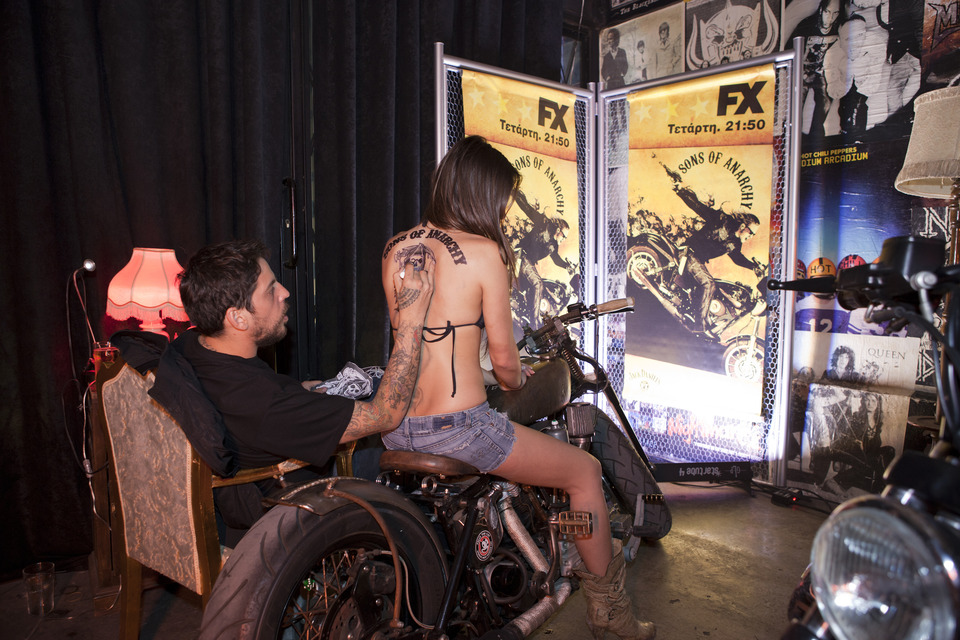 Sons Of Anarchy Launch Party