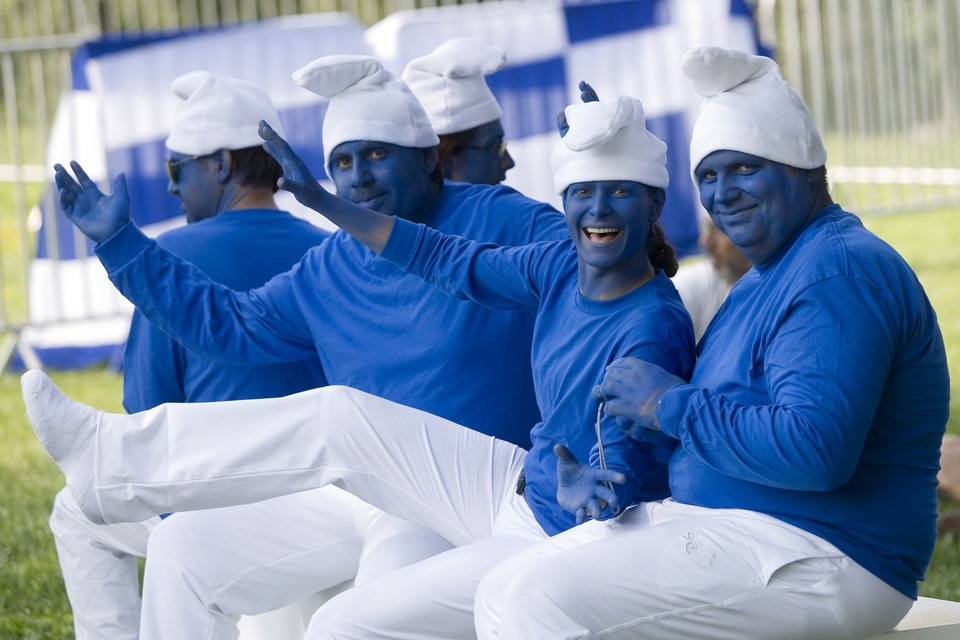 Global Smurfs Day - Guinness Record